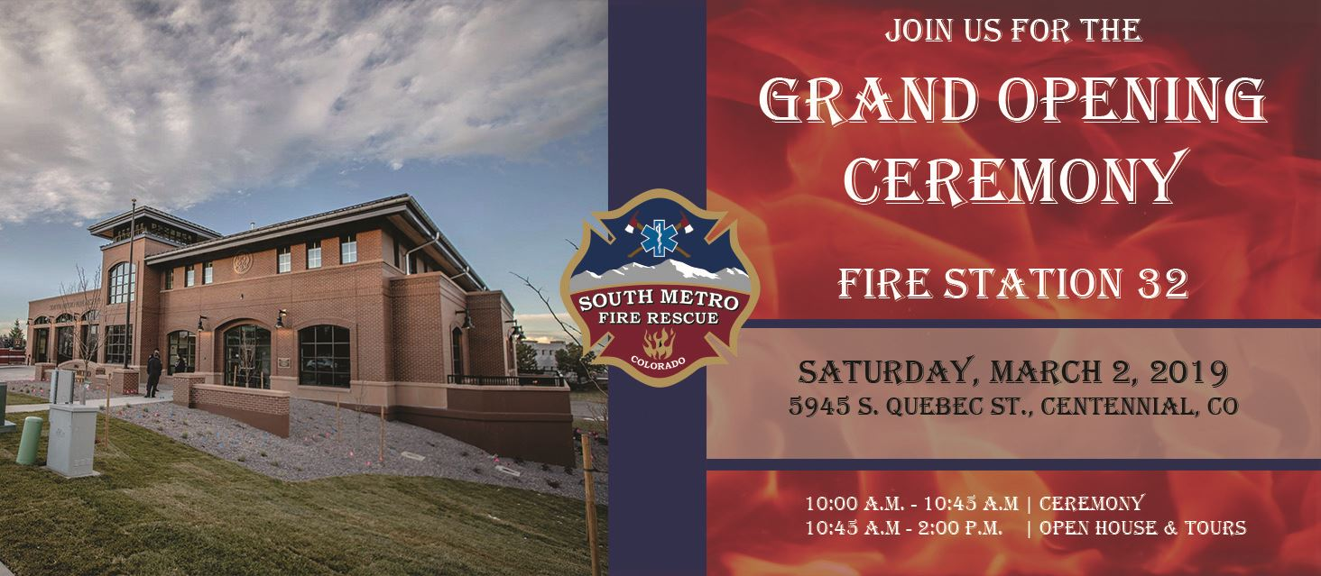Station 32 Grand Opening Invitation